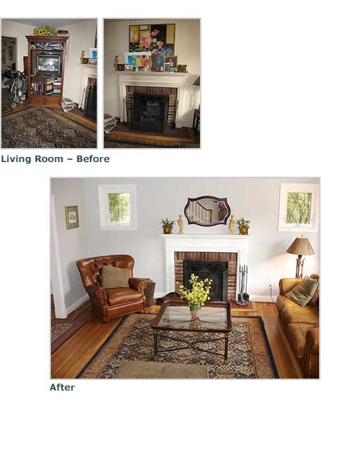 Gaywood Home Staging : Dawn Kacey Design : Baltimore, Maryland