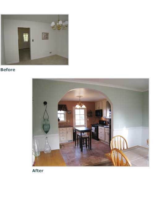 Timonium Kitchen Renovation : Dawn Kacey Design : Baltimore, Maryland